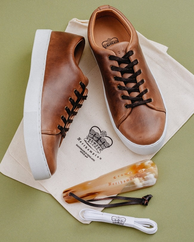Overstone Derby - Natural Horween Chromexcel Leathe