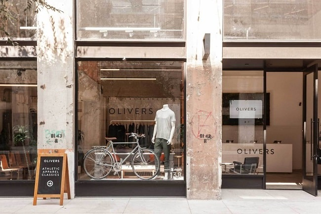 Olivers Los Angeles Store