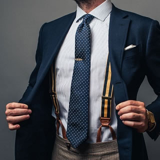 A Guide to Men's Trouser Suspenders