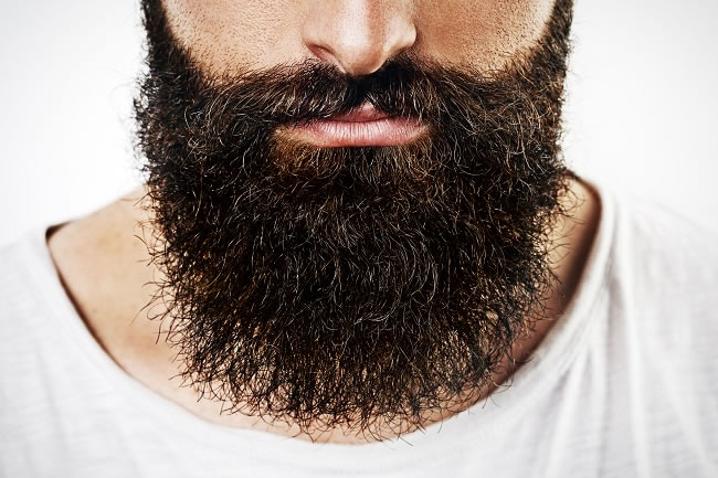 """Beards need upkeep"""