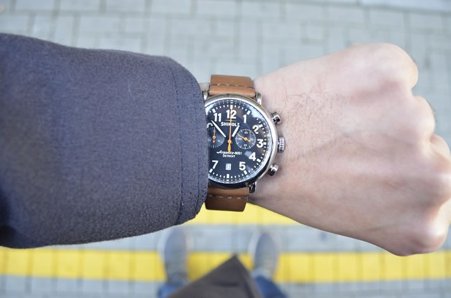 The Shinola Runwell Chrono 47mm