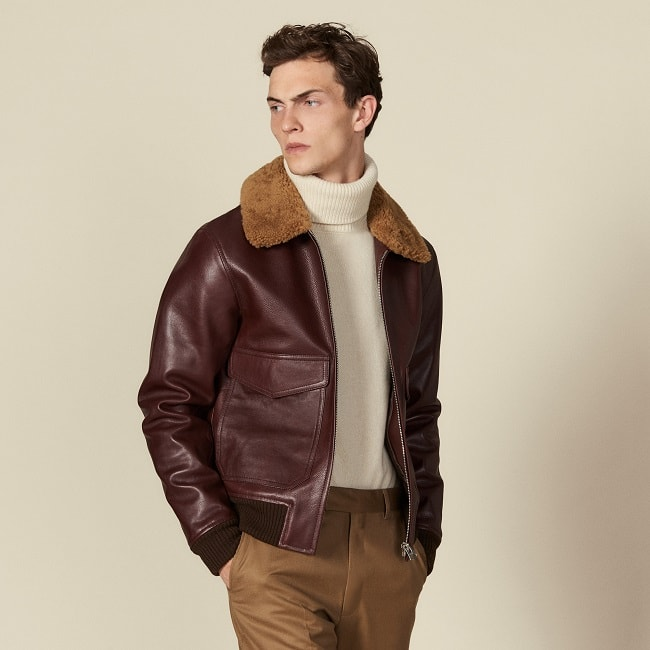 History of the Men's Leather Bomber Jacket