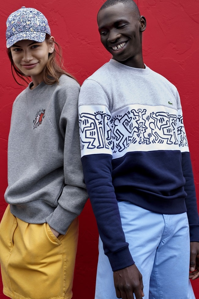 Lacoste Collection Pays Tribute to Artist Keith Haring