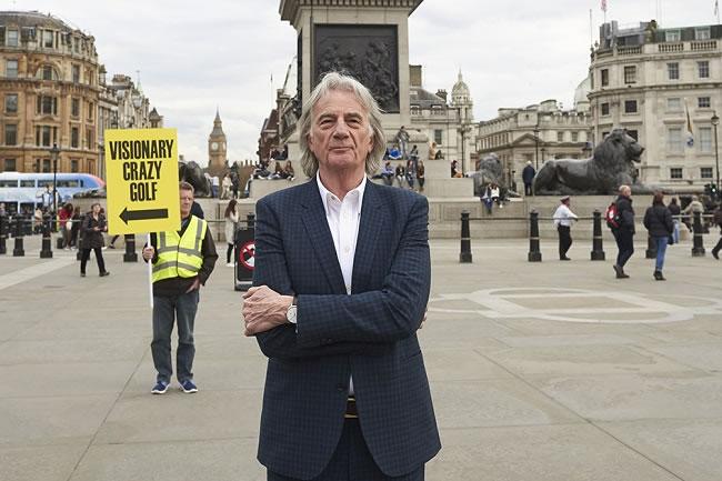 Paul Smith Wants to Bring Crazy Golf to Trafalgar Square