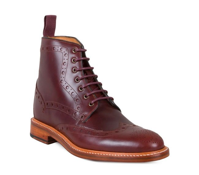For The Inner Mod (Kelfield burgundy cordovan leather boots)