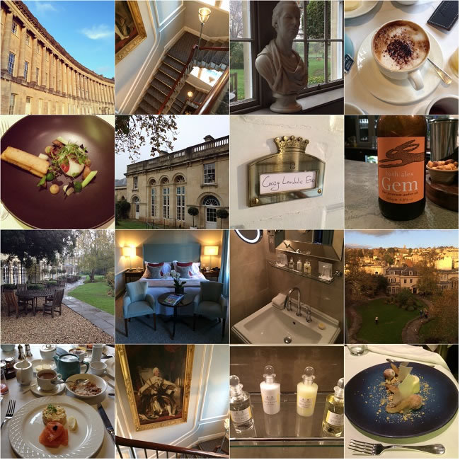 Our Royal Crescent hotel experience