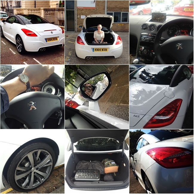 Our Peugeot RCZ experience