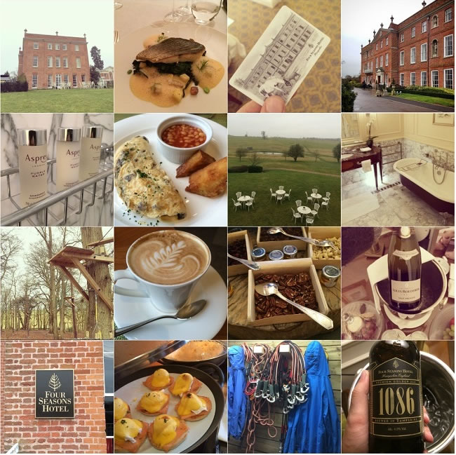 Our Four Seasons Hampshire experience