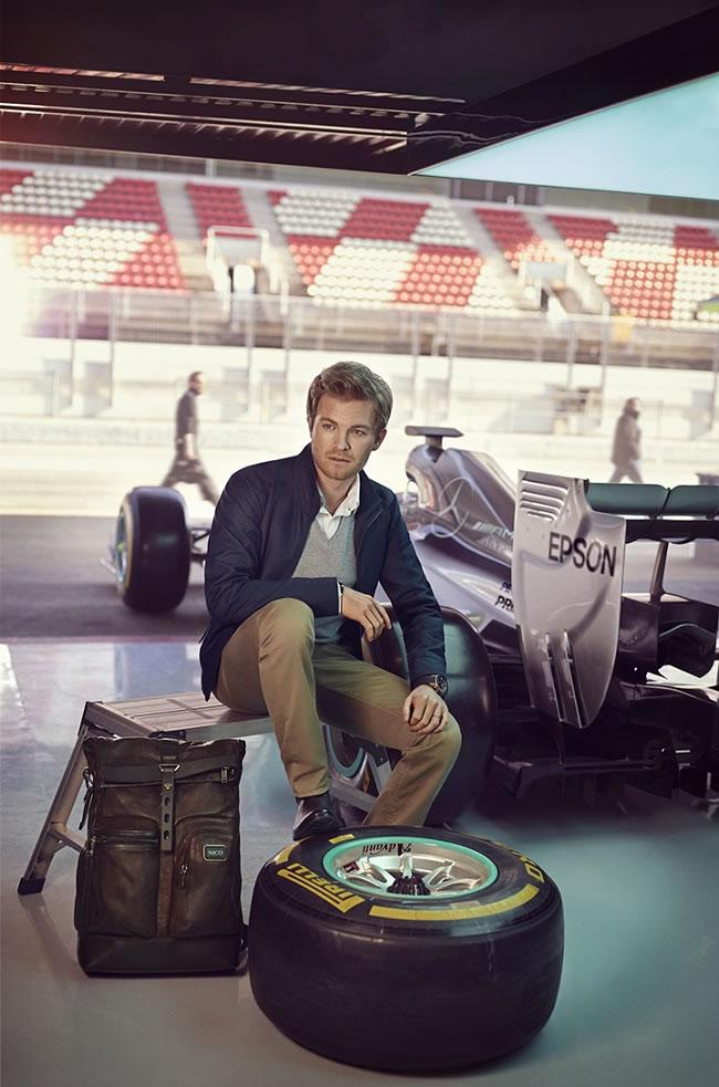 Tumi announce F1 driver Nico Rosberg as global citizen
