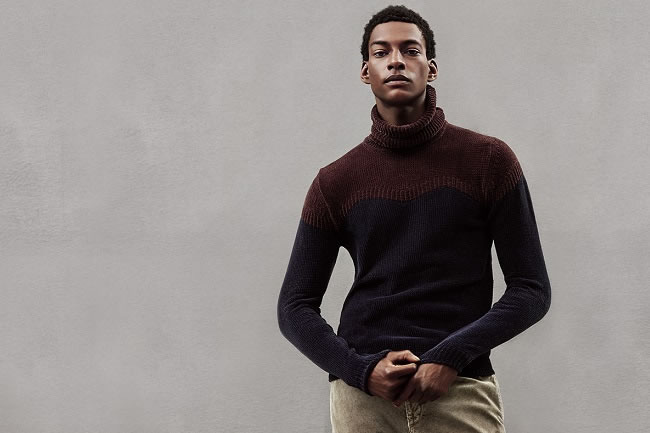 How to Wear the Roll Neck Jumper