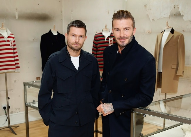 Kent & Curwen Partners With David Beckham