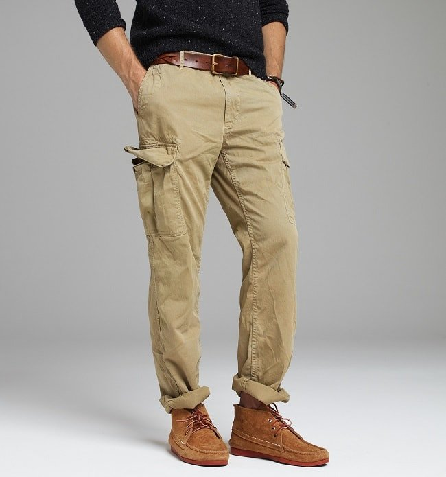 Are Men's Cargo Trousers Trending Again?