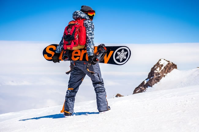 Introducing Superdry Snow Collection