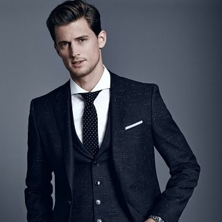 Your Guide to Men's Black Suits