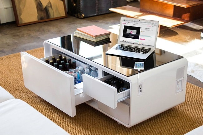Sobro coffee table cooler