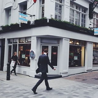 TOMS Opens its London Flagship Store in Carnaby