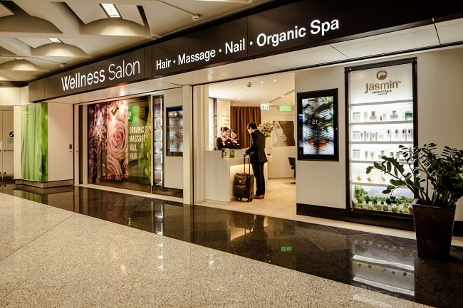 The world best airport salons for Best hair salon hong kong