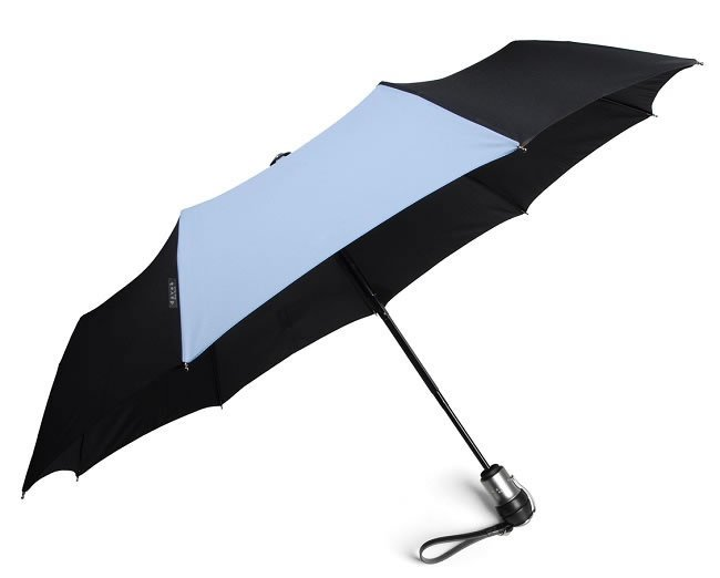 """The umbrella comes with its own unconditional lifetime guarantee"""