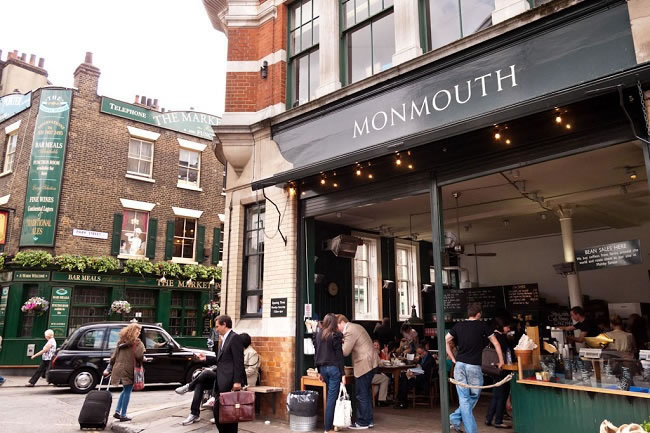 Monmouth Cafe London