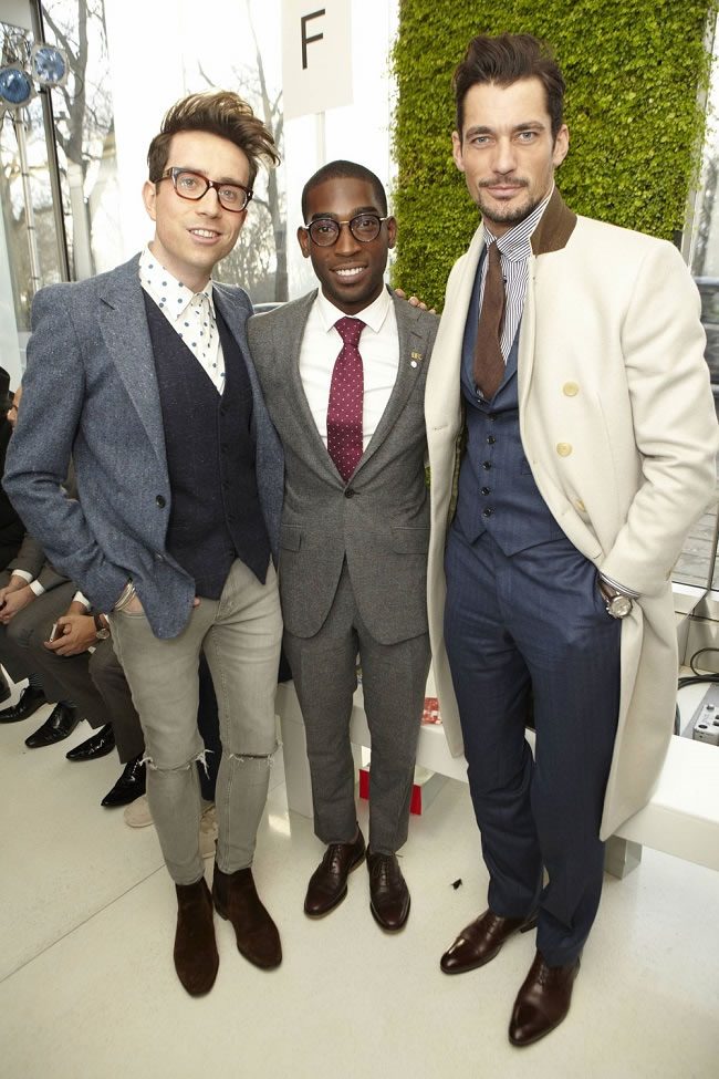 Tempah's ambassador buddies David Gandy & Nick Grimshaw