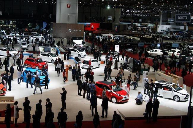 Geneva Motor Show 2014 Main Hall