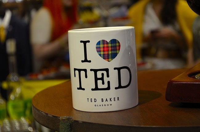 Ted Baker Glasgow Store Opening