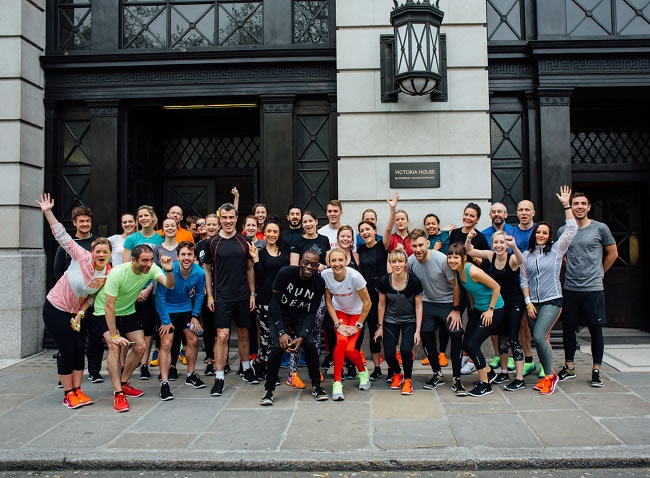 5k run with Run Dem Crew & Paula Radcliffe