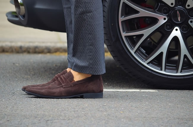 Ted Baker trousers & Anatomic & Co loafers