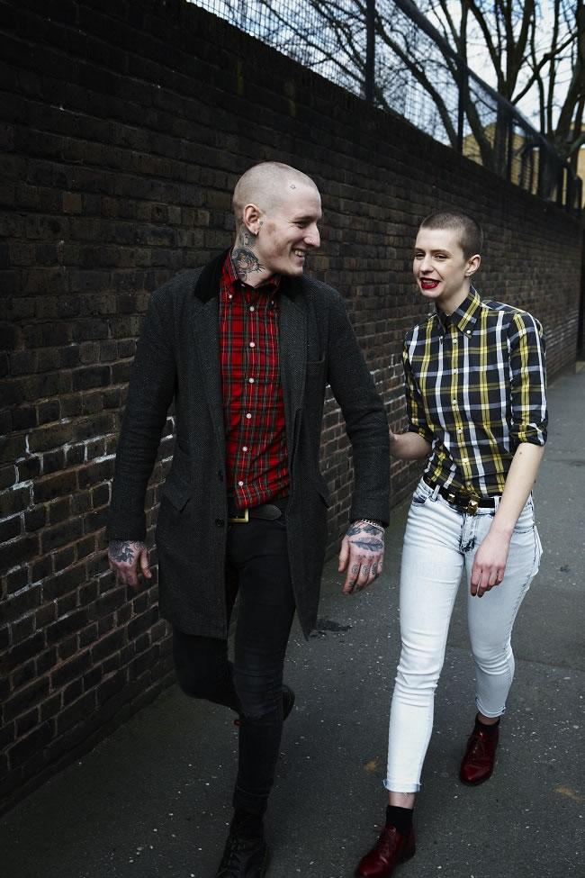 Modern Skinhead Fashion Women