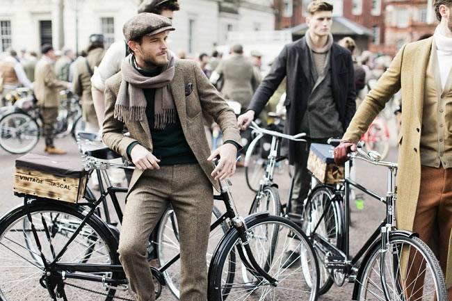 The Tweed Run London 2014