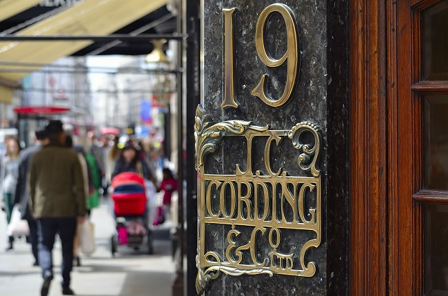 Cordings in Piccadilly London