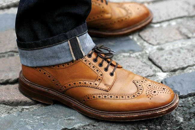 Loake Brown Brogues