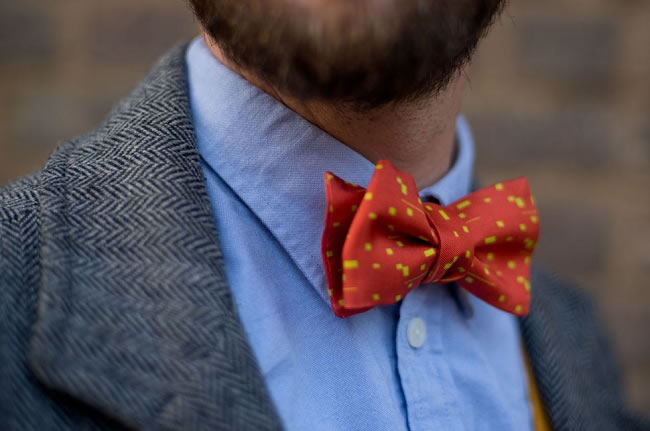 We Interview Charles Olive About His New Bow Tie Collection
