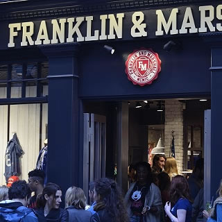 Franklin & Marshall Open Their First UK Store in London