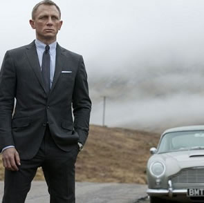 Win a James Bond Driving Experience