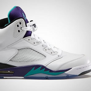 Win a  Pair of Air Jordan 5 V Grape Sneakers