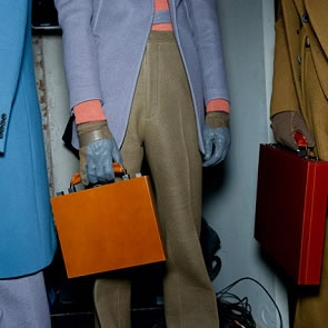 Men's briefcases make a comeback