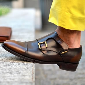Men's Double Monk Strap Shoes Trends