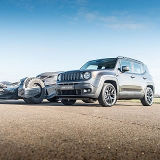 Jeep Launch Dawn of Justice Renegade
