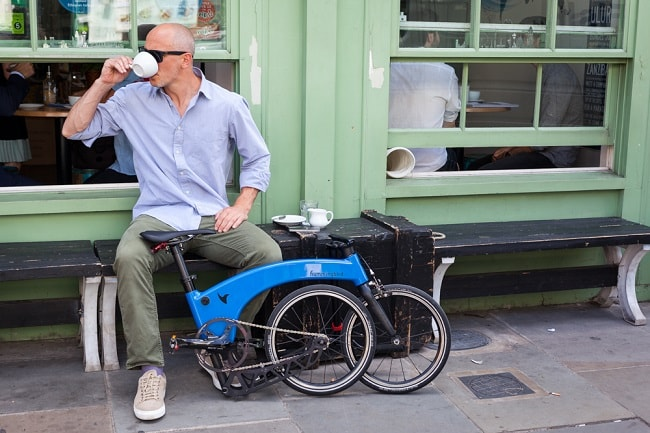 Hummingbird Creates World's Lightest Folding Bike