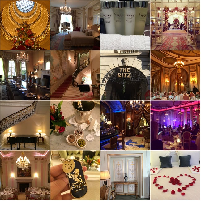 Our The Ritz London experience