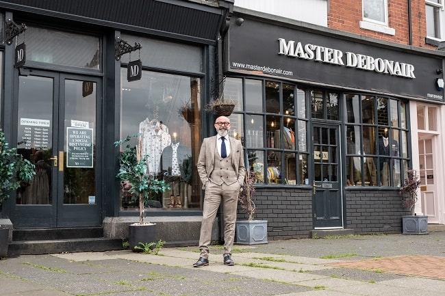 Simon Whitaker Master Debonair