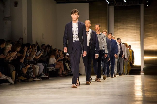 Perry Ellis at Mens New York Fashion Week