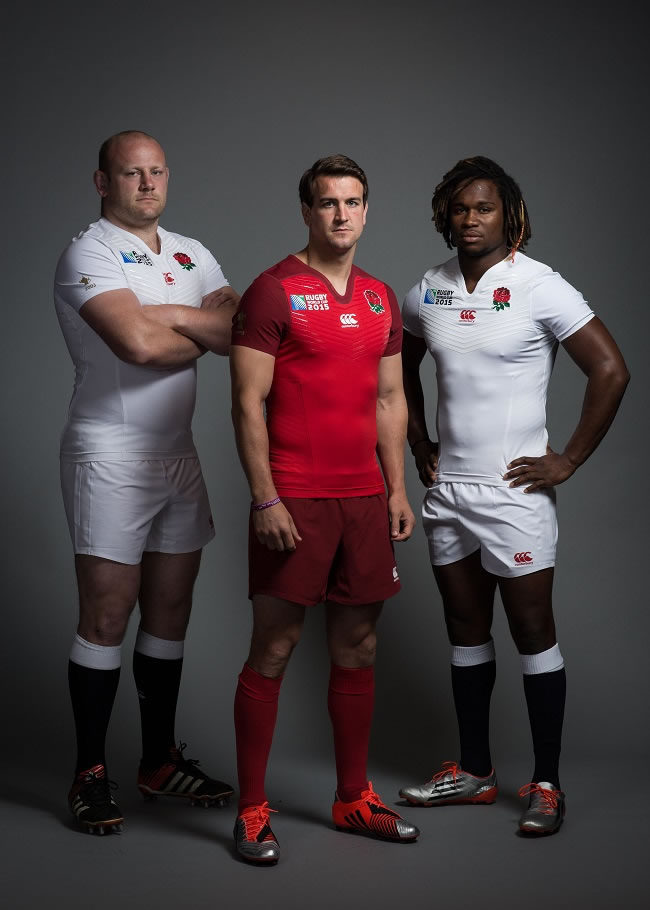 Canterbury Launch England Rugby World Cup 2015 Shirt