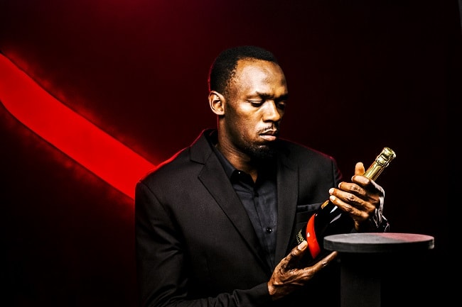 Usain Bolt is Appointed CEO of Maison Mumm