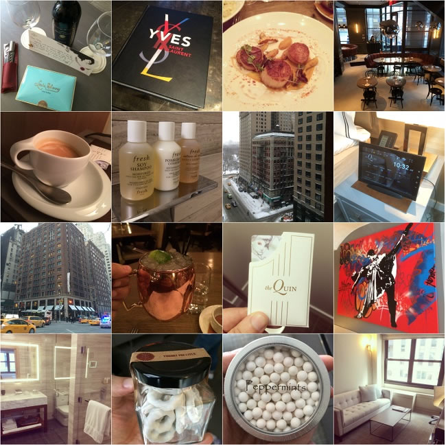 Our the Quin New York experience