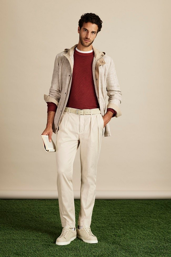 Canali Launches SS20 at Pitti Uomo 96