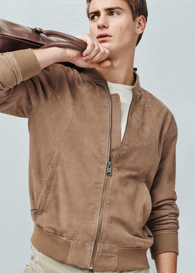 The Suede Bomber