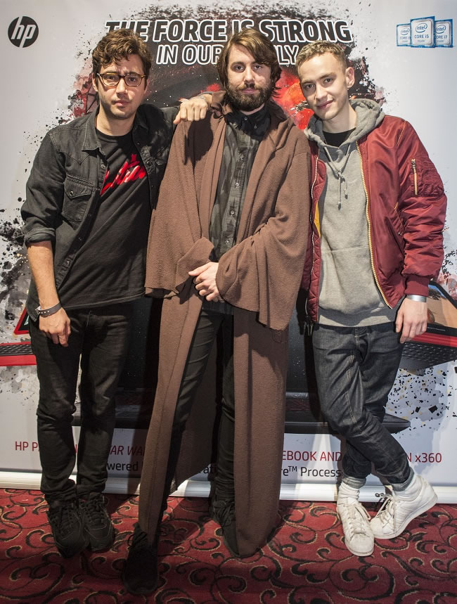 Years & Years on their Influences, Star Wars and HP Lounge