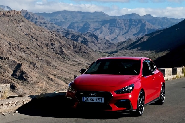 The All-New Hyundai i30 Fastback N Tested in Gran Canaria